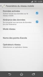 Sony Xperia Z3 - Internet et roaming de données - Désactivation du roaming de données - Étape 6
