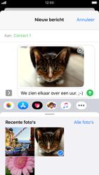 Apple iPhone 8 - iOS 13 - MMS - afbeeldingen verzenden - Stap 14