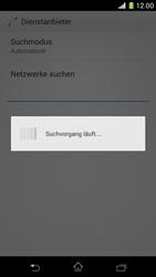 Sony Xperia Z1 Compact - Netzwerk - Manuelle Netzwerkwahl - Schritt 7