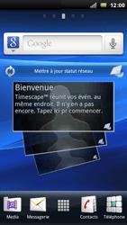 Sony Xperia Arc - MMS - Configuration automatique - Étape 1