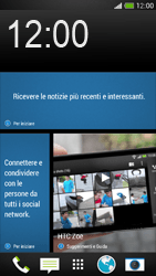 HTC One Mini - Dispositivo - Come eseguire un soft reset - Fase 1