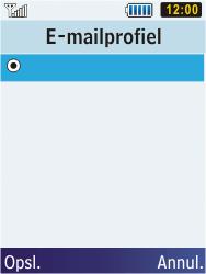 Samsung C3350 Xcover 2 - E-mail - Handmatig instellen - Stap 8