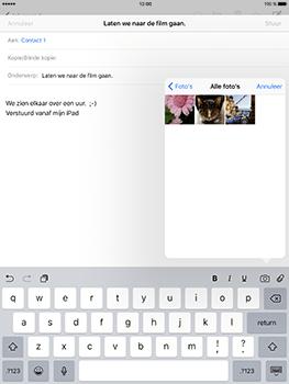 Apple iPad Pro 9.7 - iOS 10 - E-mail - e-mail versturen - Stap 9