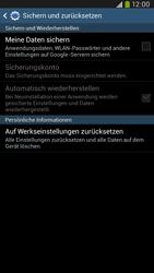 Samsung I9205 Galaxy Mega 6-3 LTE - Fehlerbehebung - Handy zurücksetzen - Schritt 8