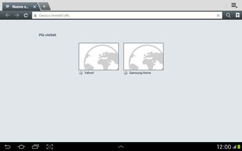 Samsung Galaxy Tab 2 10.1 - Internet e roaming dati - Uso di Internet - Fase 4