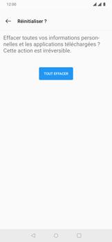 OnePlus 7 - Aller plus loin - Restaurer les paramètres d'usines - Étape 8