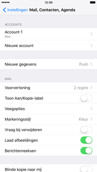 Apple iPhone 6 Plus iOS 9 - E-mail - Account instellen (IMAP zonder SMTP-verificatie) - Stap 15