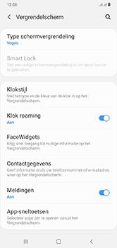 Samsung Galaxy A10 - Beveiliging - stel in of wijzig pincode voor je toestel - Stap 5