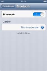 Apple iPhone 3GS - Bluetooth - Verbinden von Geräten - Schritt 7