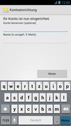 Alcatel One Touch Idol - E-Mail - Manuelle Konfiguration - Schritt 19