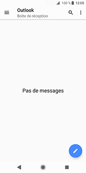 Sony Xperia XZ2 - E-mail - Configuration manuelle (outlook) - Étape 5