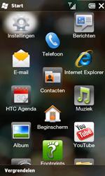 HTC T8585 HD II - bluetooth - aanzetten - stap 3
