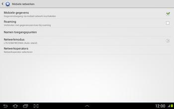 Samsung N8020 Galaxy Note 10-1 LTE - Internet - Handmatig instellen - Stap 5