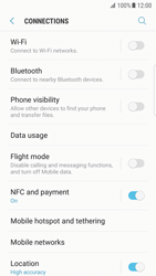 Samsung Galaxy S7 Edge - Android N - Network - Manual network selection - Step 7