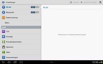 Samsung Galaxy Tab 2 10.1 - WiFi - WiFi-Konfiguration - Schritt 4