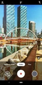 Google Pixel 3 - Photos, vidéos, musique - Créer une vidéo - Étape 11
