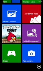 Nokia Lumia 1020 - Operazioni iniziali - Personalizzazione della schermata iniziale - Fase 9