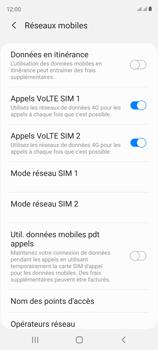 Samsung Galaxy S20 FE - Aller plus loin - Désactiver les données à l'étranger - Étape 7