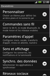 HTC A6262 Hero - Messagerie vocale - Configuration manuelle - Étape 4