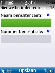 Nokia C2-01 - SMS - handmatig instellen - Stap 7