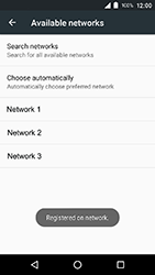 Crosscall Action X3 - Network - Manually select a network - Step 10