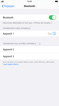 Apple iPhone 6s Plus - iOS 13 - Bluetooth - connexion Bluetooth - Étape 8