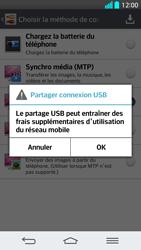 LG G2 - Internet et connexion - Utiliser le mode modem par USB - Étape 8