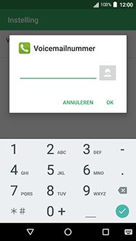 Acer Liquid Zest 4G Plus - Voicemail - handmatig instellen - Stap 9