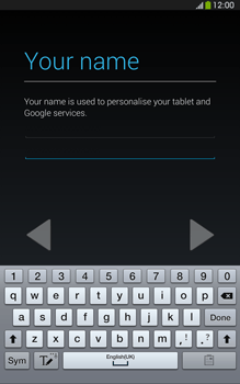 Samsung Galaxy Tab 3 8-0 LTE - Applications - Setting up the application store - Step 6