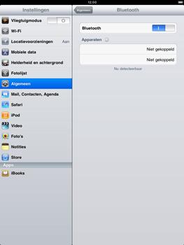 Apple iPad 2 - Bluetooth - koppelen met ander apparaat - Stap 7