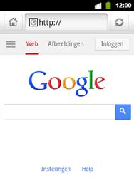 Alcatel OT-903 - Internet - Hoe te internetten - Stap 4