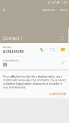 Samsung Galaxy S7 Edge - Contact, Appels, SMS/MMS - Ajouter un contact - Étape 8