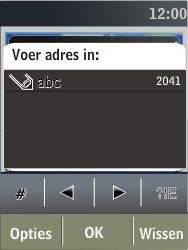 Nokia X3-02 - Internet - Hoe te internetten - Stap 15