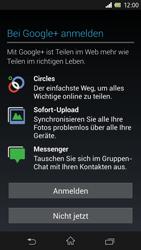 Sony Xperia Z - Apps - Konto anlegen und einrichten - 11 / 17
