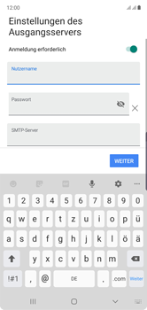 Samsung Galaxy Note 10 - E-Mail - Manuelle Konfiguration - Schritt 17