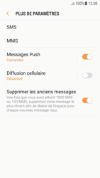 Samsung A310F Galaxy A3 (2016) - Android Nougat - SMS - Configuration manuelle - Étape 7