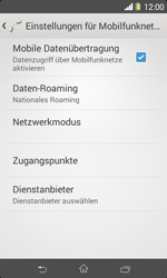 Sony Xperia E1 - Ausland - Auslandskosten vermeiden - 0 / 0