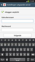 Samsung I9505 Galaxy S IV LTE - E-mail - Account instellen (IMAP met SMTP-verificatie) - Stap 14