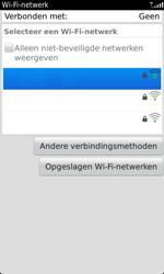 BlackBerry 9860 Torch - wifi - handmatig instellen - stap 6