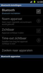 Samsung I9070 Galaxy S Advance - Bluetooth - Headset, carkit verbinding - Stap 6