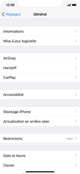 Apple iPhone X - Applications - Comment désinstaller une application - Étape 4