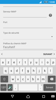 Sony Xperia Z5 Premium (E6853) - E-mail - Configuration manuelle - Étape 12
