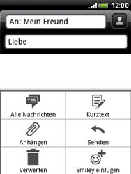 HTC A3333 Wildfire - MMS - Erstellen und senden - Schritt 15