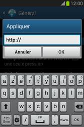 Samsung S6810P Galaxy Fame - Internet - Configuration manuelle - Étape 25