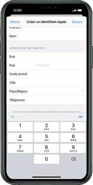 Apple iPhone 6s Plus - iOS 13 - Applications - Créer un compte - Étape 19