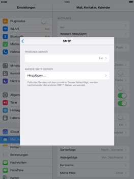 Apple iPad mini 2 - E-Mail - Konto einrichten - 1 / 1