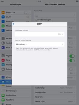 Apple iPad 4 - E-Mail - Konto einrichten - 1 / 1