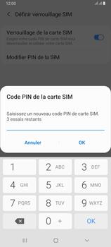 Samsung Galaxy A80 - Sécuriser votre mobile - Personnaliser le code PIN de votre carte SIM - Étape 10