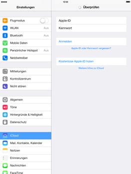 Apple iPad Retina iOS 7 - Apps - Konfigurieren des Apple iCloud-Dienstes - Schritt 16