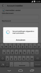 Huawei Ascend P7 - E-mail - handmatig instellen - Stap 18